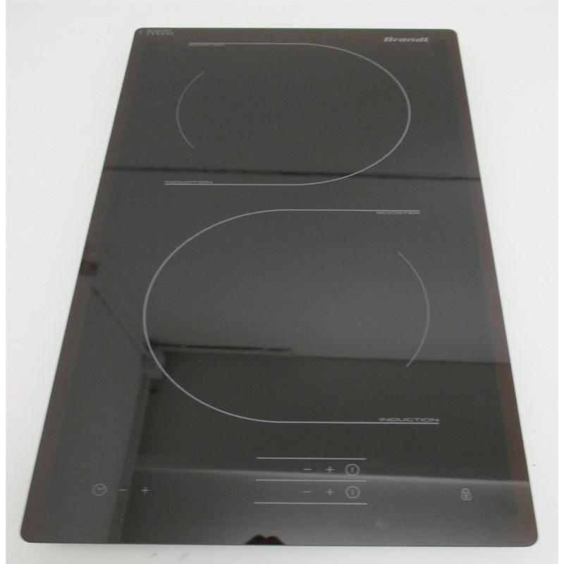 dessus verre pour plaque induction brandt 5343605 bvm ebay. Black Bedroom Furniture Sets. Home Design Ideas