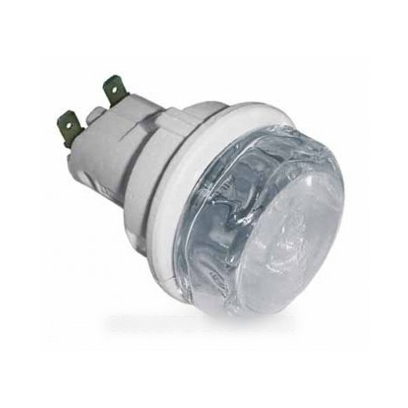 douille + hublot de lampe diam 55 m/m