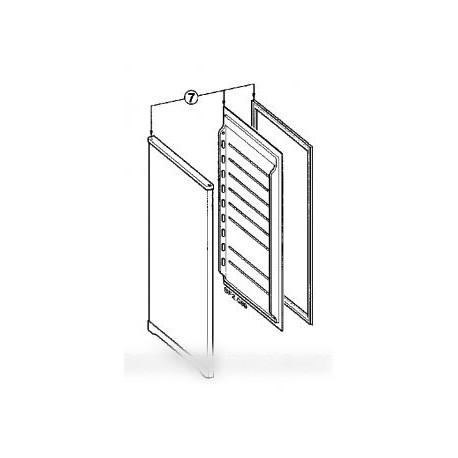 porte complete avec joint magnetique