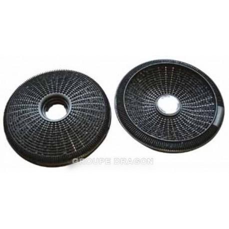 filtres charbon diam 190 (x2) type 190