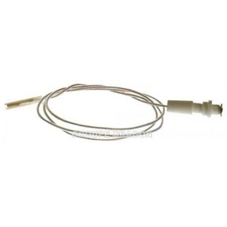 bougie d'allumage avec fil lg 600 m/m