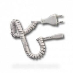 cordon spirale blanc