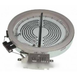 foyer halogene d145mm 1200 watts