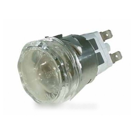 douille + hublot de lampe diam 35 m/m