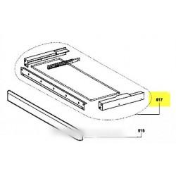 tiroir support blanc