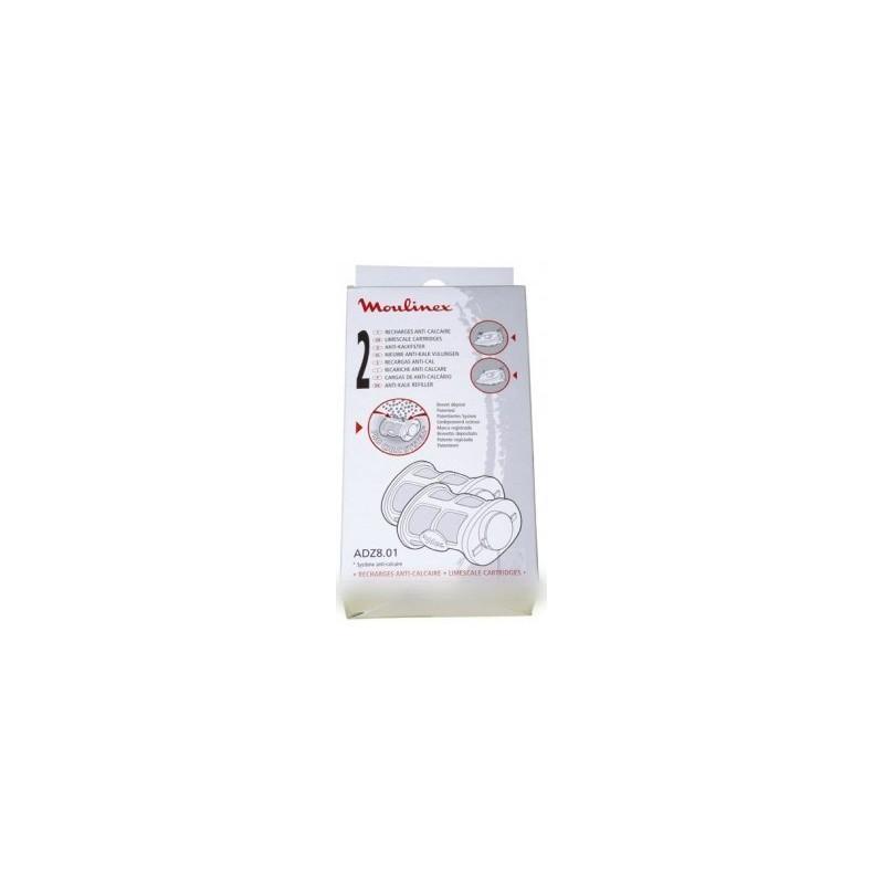 cartouche anti calcaire pour petit electromenager moulinex adz801 adz801 bvm. Black Bedroom Furniture Sets. Home Design Ideas
