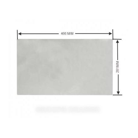 glace de tiroir w:466 x 281 x 4 (1 bac)