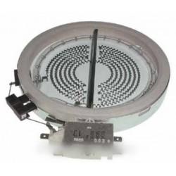 foyer halogene 1200 w diametre 145 m/m
