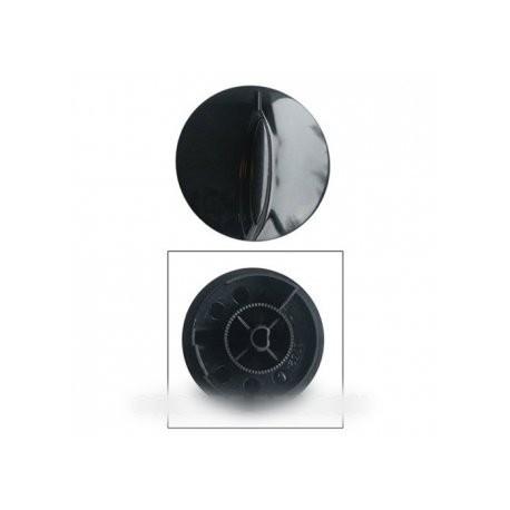 bouton noir minuterie et commande