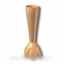 pied plastique anti-eclaboussure vanille