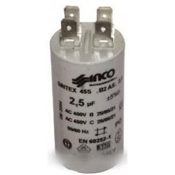 condensateur fixation