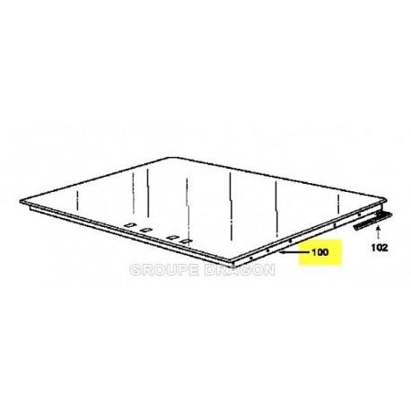 dessus verre vitro ceram pour table de cuisson brandt. Black Bedroom Furniture Sets. Home Design Ideas