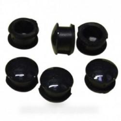 bouton pendule afficheur noir (:x6)