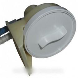 couvercle filtre + 2 tuyaux
