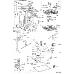pi ces d tach es lectrom nager vue clat e lave vaisselle. Black Bedroom Furniture Sets. Home Design Ideas