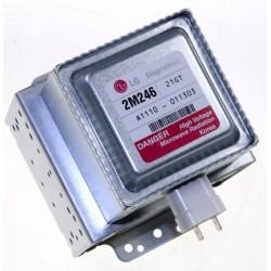 magnetron 1kw 2.46ghz 4.35kv 2m248hb pour micro ondes LG