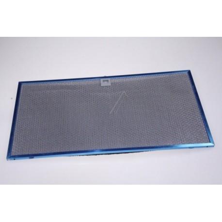 filtre metal 557 x 303 m/m pour hotte BRANDT