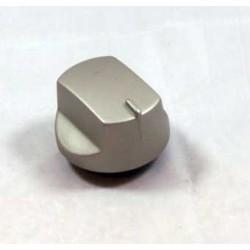 bouton bruleur gaz alu dia 8 mm pour table de cuisson ARISTON