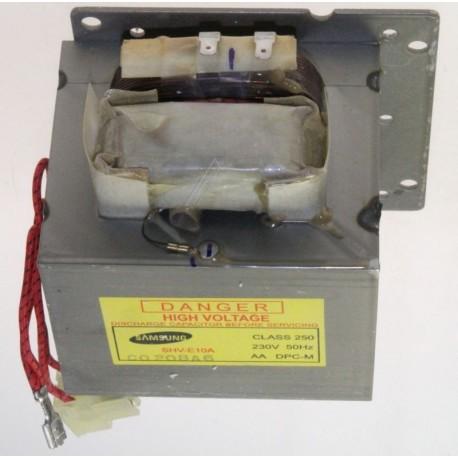 transfo h.v shv-e10a,230v,50hz,2435v/3.3 pour micro ondes SAMSUNG
