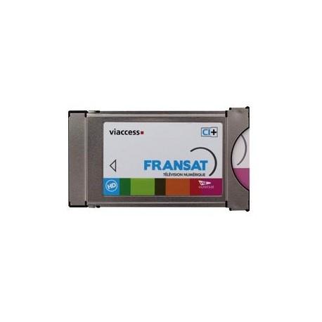 FRANSAT CAM CI+ AVEC CARTE FRANSAT POUR TV SAMSUNG