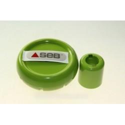 bouton de serrage vert