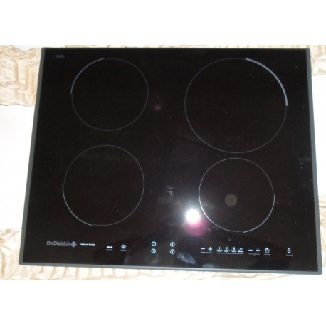 Dessus verre de plaque pour table de cuisson de dietrich 72x6544 bvm - Plaque de verre pour table basse ...