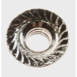 ECROU NUT-HEXAGON FLANGE M4 NI SWRCH10A LEFT POUR MICRO ONDE SAMSUNG