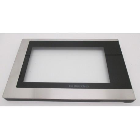 cadre de porte inox pour micro ondes de dietrich 74x3766. Black Bedroom Furniture Sets. Home Design Ideas