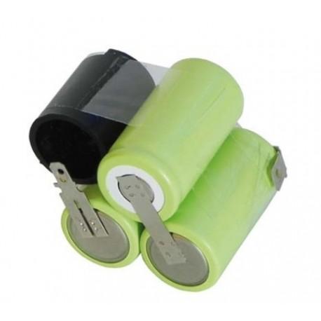 accumulateur 3.6 v 1300 mha pour aspirateur MOULINEX