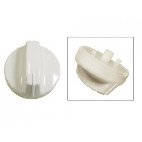 bouton blanc de programmateur pour lave vaisselle IGNIS