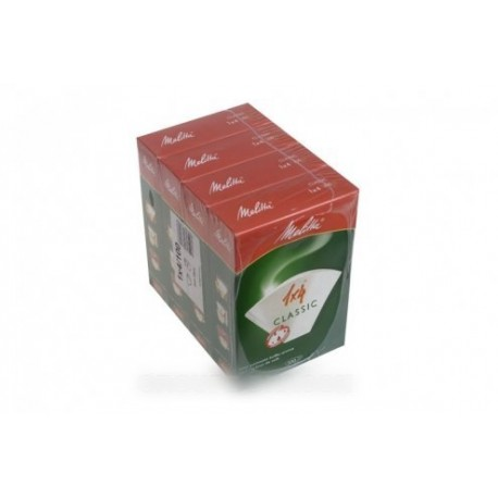 boites de 4 x 100 filtres cafe classic