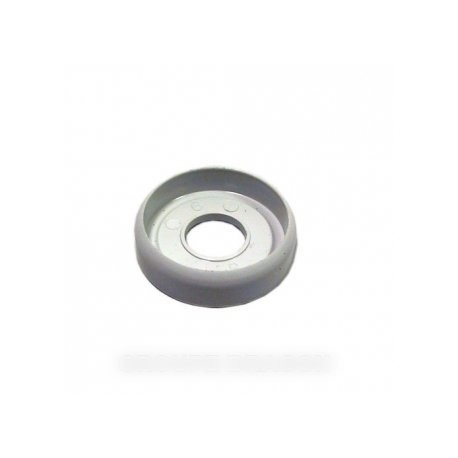 disque bouton blanc