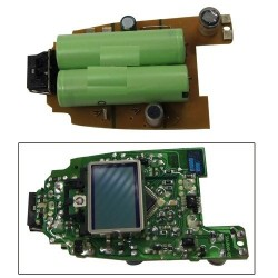 circuit imprime + afficheur + batterie pour petit electromenager BRAUN