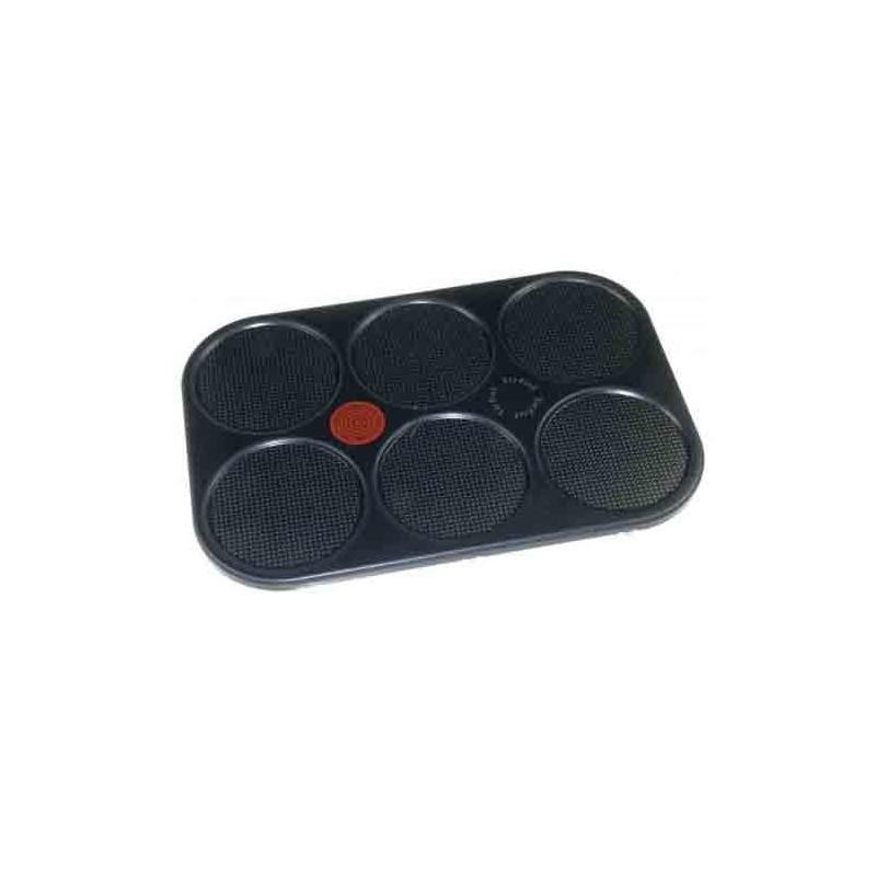 plaque crepe noir pour crepiere tefal ts 16980300 bvm. Black Bedroom Furniture Sets. Home Design Ideas