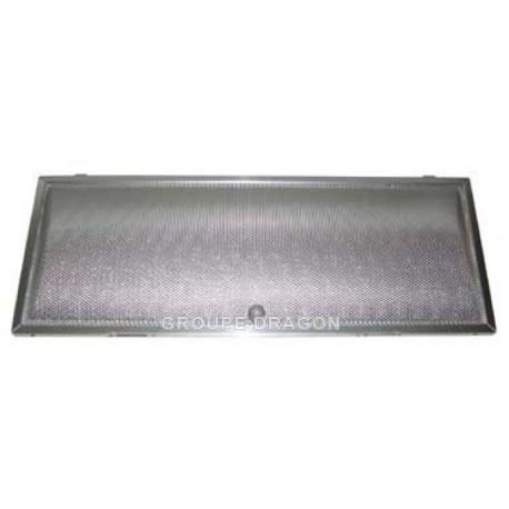 filtre metal 45.5 cm x 17.7 cm x 2.4 cm