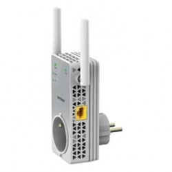 KIT CPL 200 MBPS 2 CPL 1 AVEC PRISE + 1 AVEC WIFI pour audiovisuel video