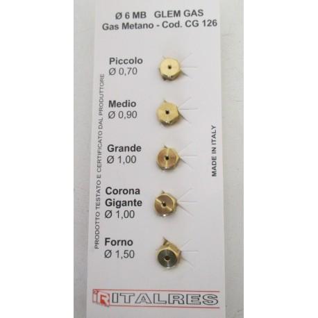 sachet injecteurs gaz naturel pour cuisini