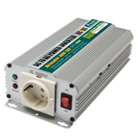 CONVERTISSEUR 12VDC 230V AC 600W/1500W