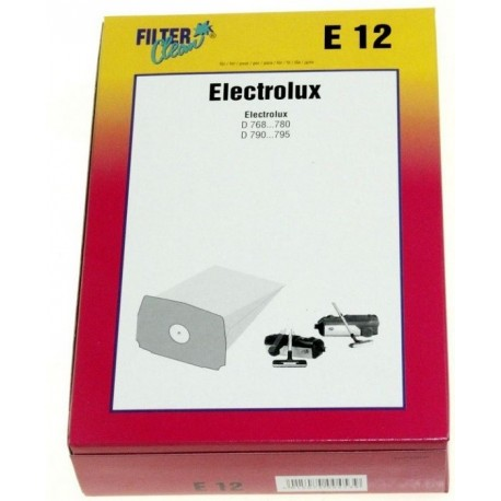 SAC ASPIRATEUR PAPIER X5 POUR ASPIRATEUR ELECTROLUX