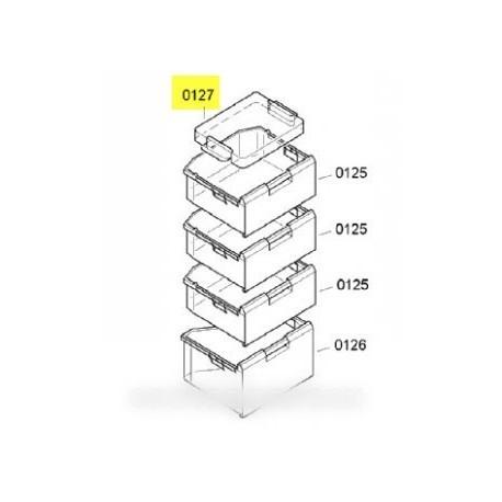 bac de congelation pour cong lateur bosch b s h 661537. Black Bedroom Furniture Sets. Home Design Ideas