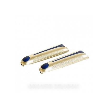 flancs argent/bleu