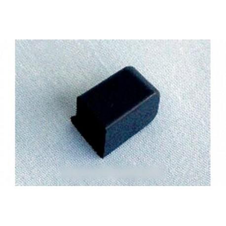 bouton noir de vitesses lente