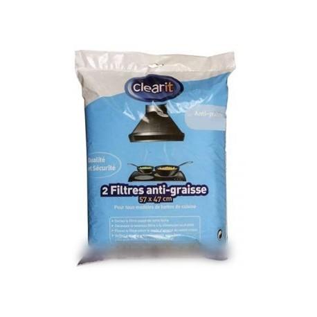 filtres de hottes anti-graisse 140g/m