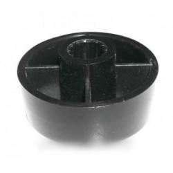 bouton de programmateur noir