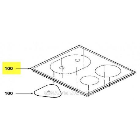 dessus verre vitro-ceram