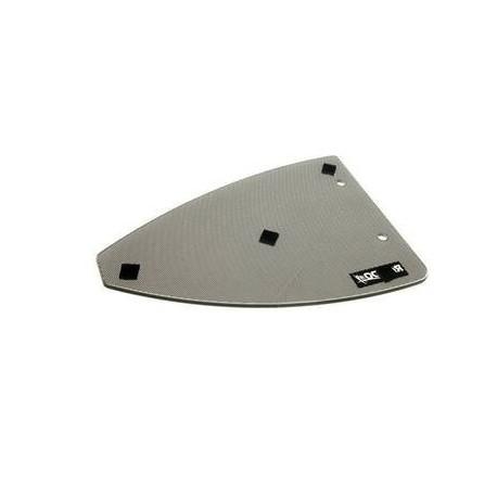 Couvercle en verre RAL9005 pour table de cuisson Dometic