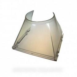entonnoir transparent fabrique de glace