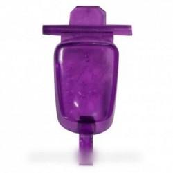 bouton de commande vapeur violet