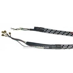cordon de liaison 2.30 m 4 fils tube 5x9