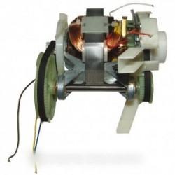 moteur complet avec pignons et couroies